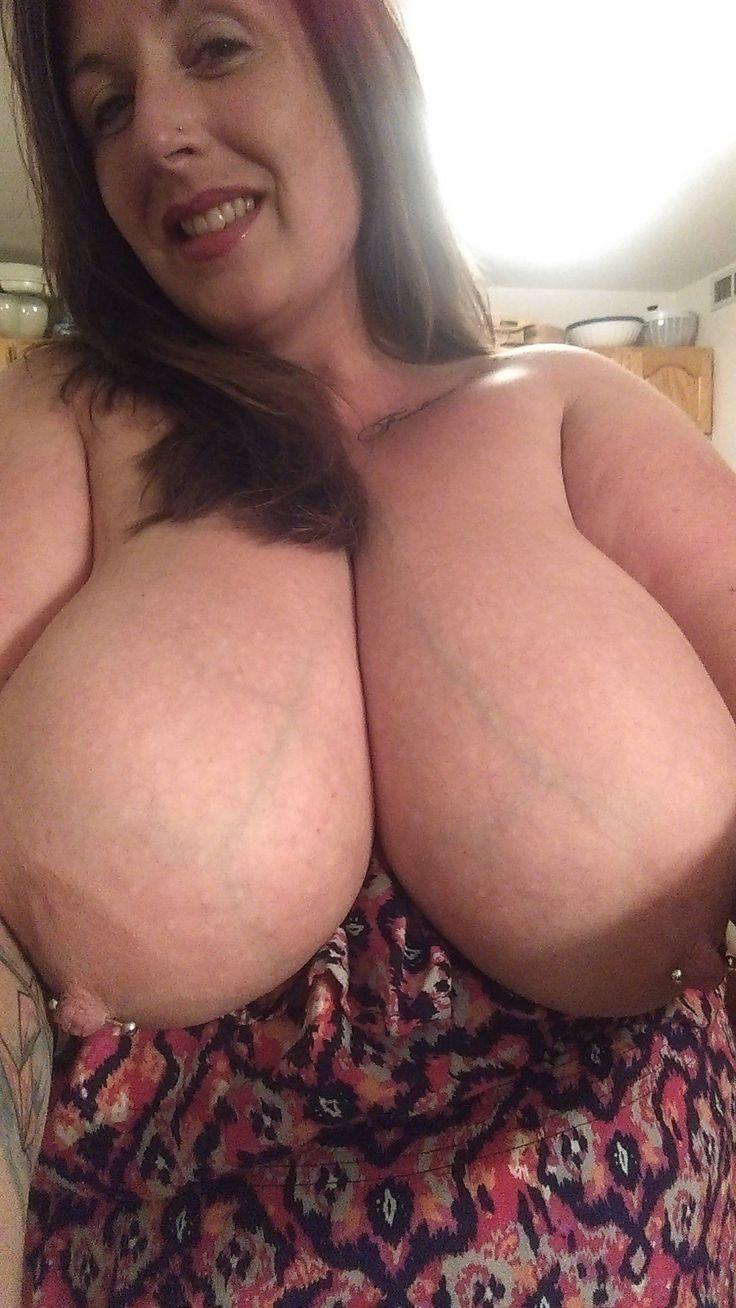 Huge old boob