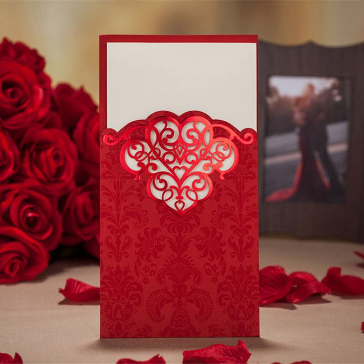 10 Wedding Invitation Cards With Envelopes Seals Custom Personalized Printing