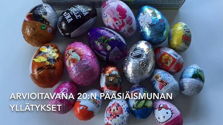 Missä munassa piilee paras yllätys? Lapset arvioivat suomalaiskauppojen pääsiäismunat! http://www.mtv.fi/lifestyle/makuja/artikkeli/missa-munassa-piilee-paras-yllatys-lapset-arvioivat-suomalaiskauppojen-paasiaismunat/5804880