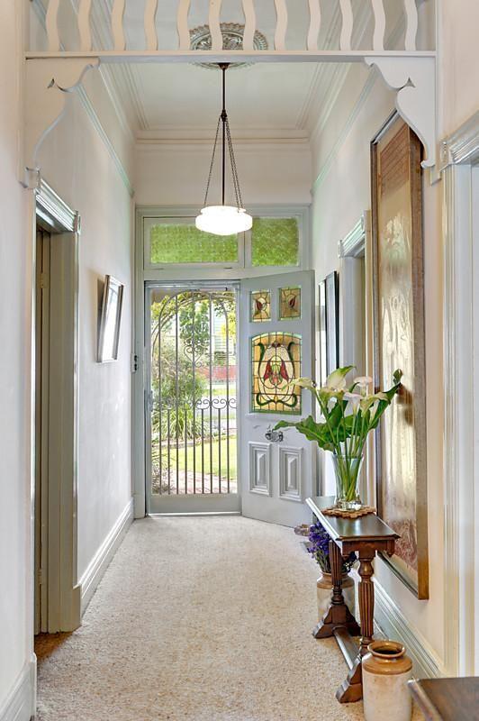edwardian villa entry hall