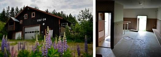 Victoria Silvstedt susade nedför backen | Övergivna platser | Nyheter Feature | Nyheter | Aftonbladet