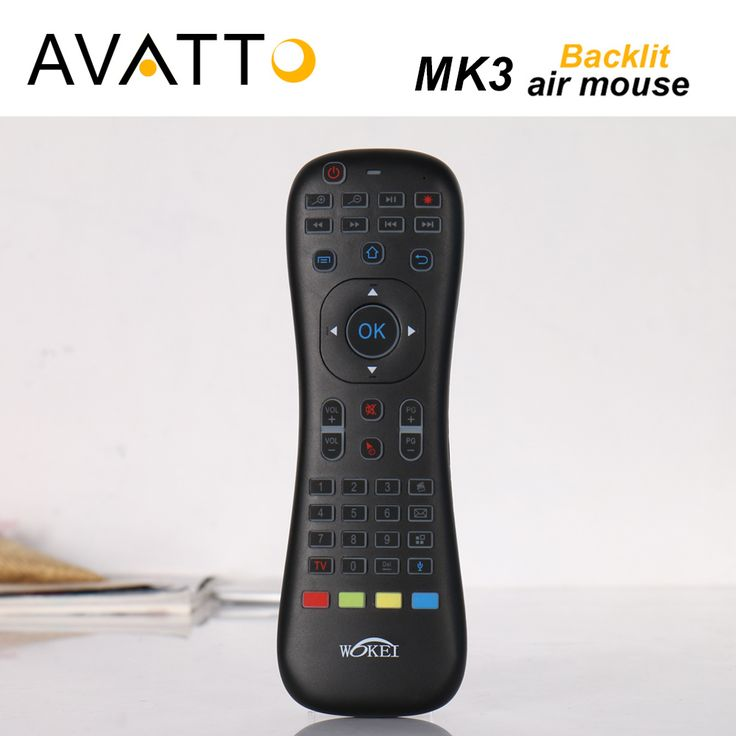 [AVATTO] MK3 Backlit Macphone Air Mouse 2.4G Wireless IR Learning Voice Remote Control mini KeyboardFor Smart tv/Android Box/PC