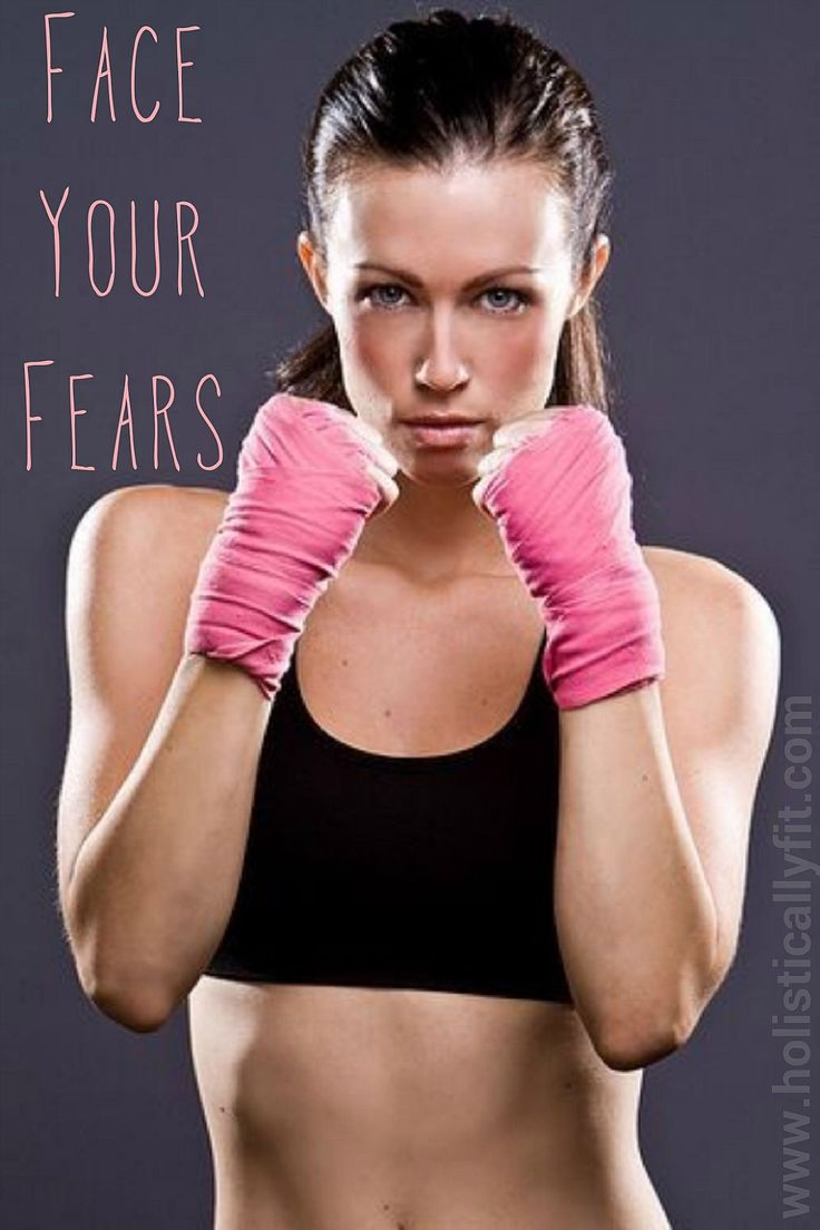 Weekly Challenge: Face Your Fears | Holistically Fit