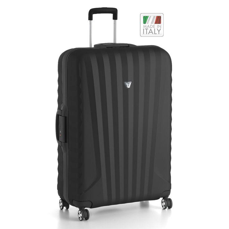 Großer #Koffer Roncato Uno SL 2014 bei Koffermarkt: ✓Polycarbonat-Hartschale ✓4 Rollen ✓TSA-Schloss ✓95 l ✓30x50x78 cm ✓schwarz ⇒Jetzt kaufen