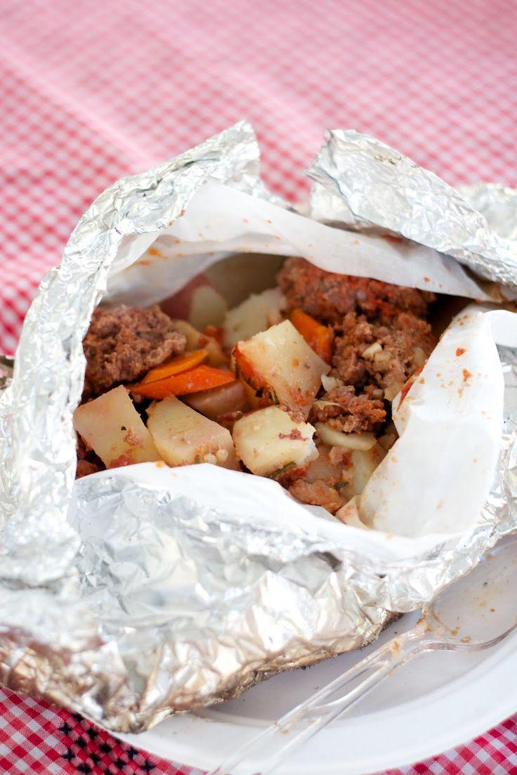 Tin Foil Dinners: Cowboy Meatballs MealAssociation Close, Brown Sugar, Coteri Blog, Meatballs Meals, Cowboy Meatballs, Coteri Koh Tuh Re, No Sugar, Tins Foil Dinner, Tin Foil Dinners