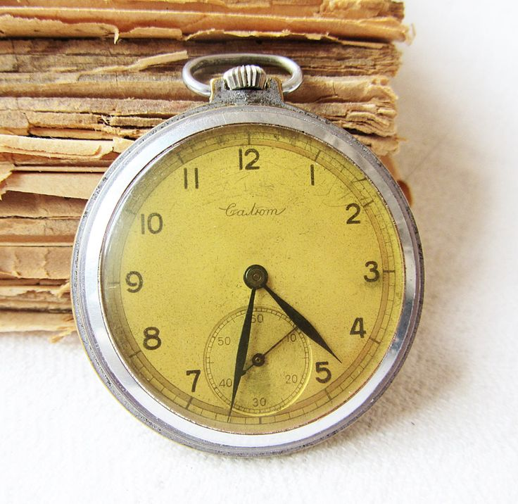 Ultra Rare Vintage Men's Pocket Watch Salut Working Antique Pocket Watch USSR 50s. Watch for Men Retro Watch Old Pocket Watch Collectible by TedDiscovery on Etsy