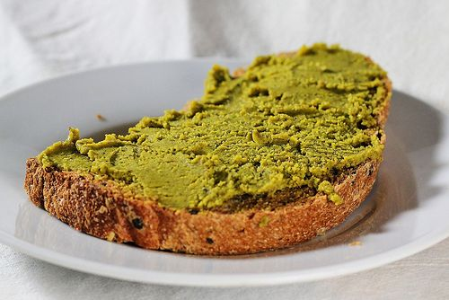 Pistachio butter. Something to consider for two perpetually pistachio-craving people like me & J.
