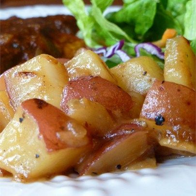 """Honey Roasted Red PotatoesI """"These are great! Not overly sweet and a nice change from regular roasted potatoes."""""""
