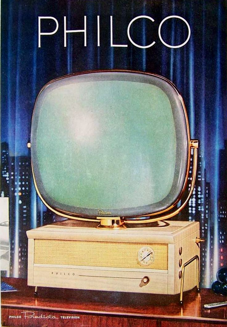 this 1958 Philco Predicta TV! It was the spare TV in my Grandparent's downstairs entertainment room