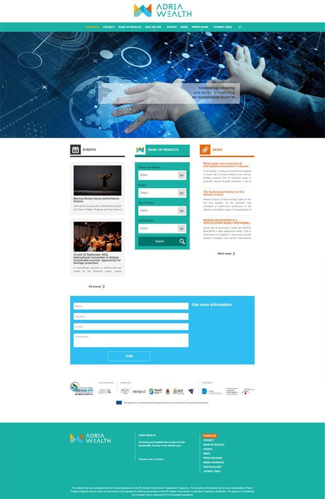 Sito web realizzato per Adria Wealth Project - http://www.adriawealth.eu