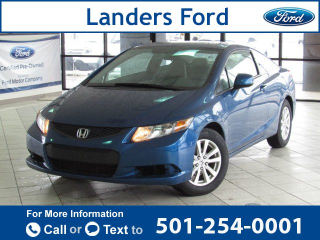 2012 *Honda*  *Civic* *Coupe* *2dr* *Automatic* *EX*  83k miles $10,500 83646 miles 501-254-0001 Transmission: Automatic  #Honda #Civic Coupe #used #cars #LandersFord #Benton #AR #tapcars
