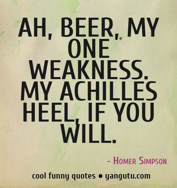 Homer Simpson Wedding Quotes: 25+ Best Ideas About Beer Funny On Pinterest