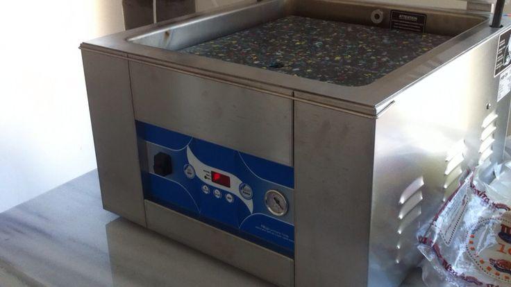 Vacuum machine 45 INTERCOM at Yufkaci factory in Alexandroupolis.