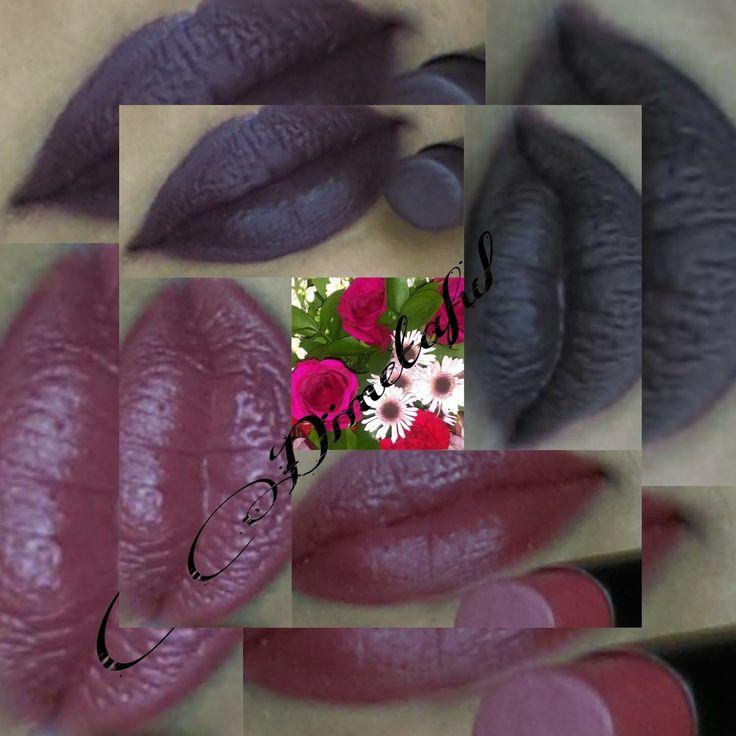 Dimetaful: Fall lipstick colors from BH cosmetics Matte texture