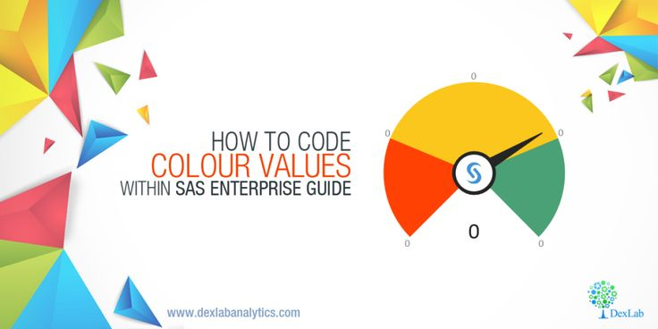 How to Code Colour Values Within #SAS Enterprise Guide