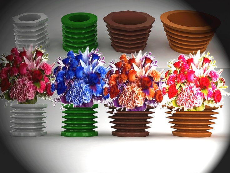 EXPANDING VASES