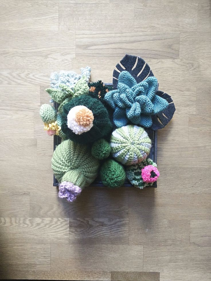 My crochet Cactus Garden is finally complete, and it looks freaking awesome if I do say so myself! Without a real plan, I bought a bunch of green hued cactus coloured yarns and started crocheting a…