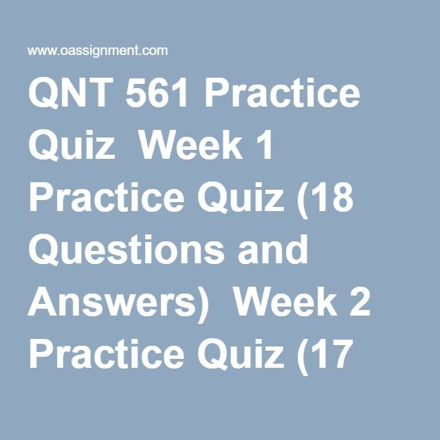 qnt 561 week 4 wiley practice Help - time_case_study_week 4_team cdocx from qnt 561 at university of   2 payment time case study the team assignment this week will give us the   on the provided standard deviation for the population of payment times for all.