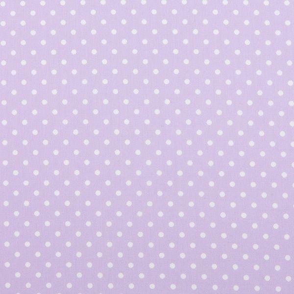 Puncte mici albe pe fond lila
