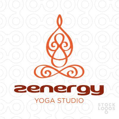 Exclusive Customizable Logo For Sale: zen yoga studio logo | StockLogos.com