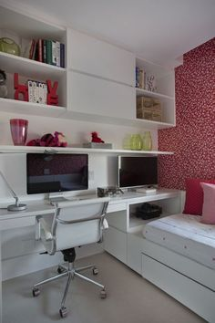 Um lar de 70 m² ideal para pai e filha Apartamento dos anos 1980 ganha reforma Acesse o site peça seu orçamento http://www.projetoseambientes.com.br/orcamento.html