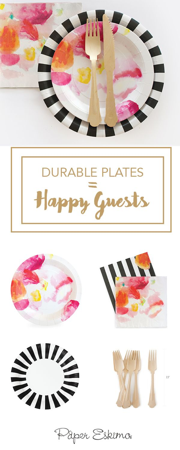 Making unique celebrations easier to throw, Paper Eskimo's high-quality designer partyware gives you more time to do the things you love. Shop this look at Papereskimo.com