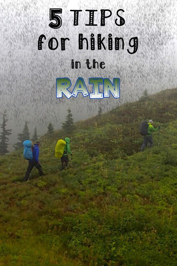 Don't let wet weather keep you indoors. Learn how to stay dry & choose the right trail, clothing & gear with these 5 simple tips for hiking in the rain.