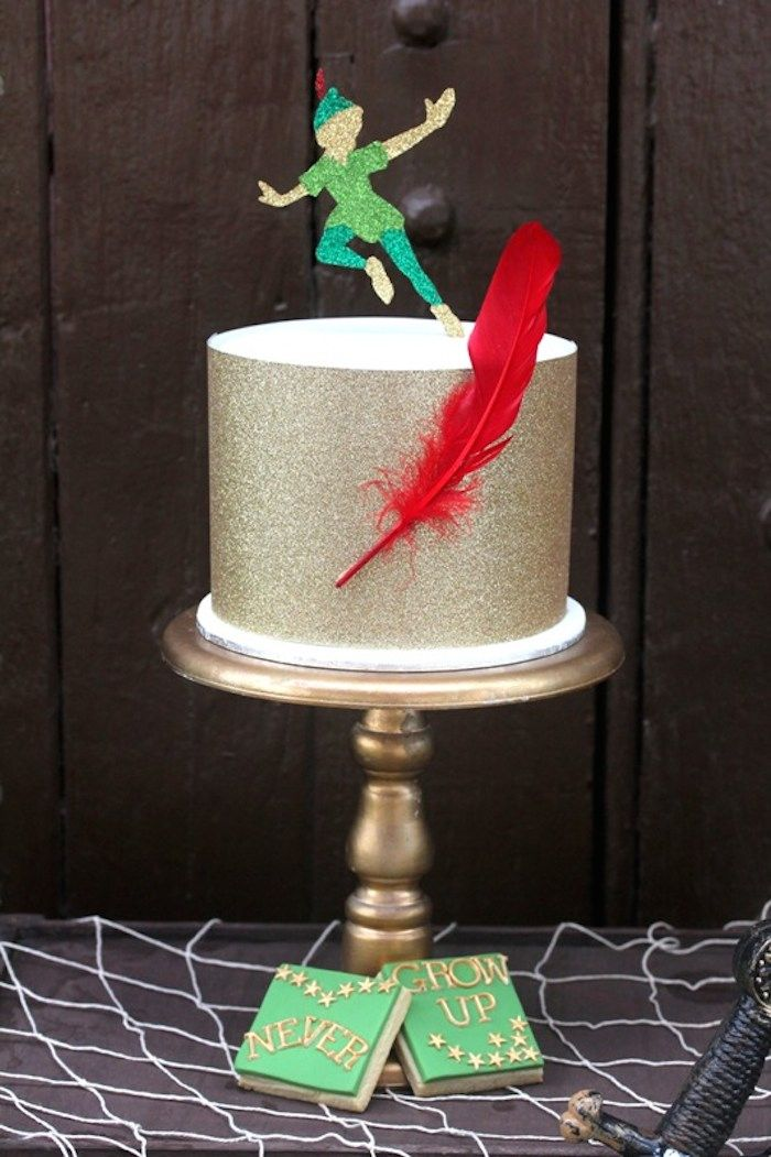 Peter Pan themed birthday party with Such Cute Ideas via Kara's Party Ideas! full of decorating ideas, dessert, cake, cupcakes, favors and more! KarasPartyIdeas.com #peterpan #peterpanparty #partyideas #partydecor #partystyling #partydesign (27)