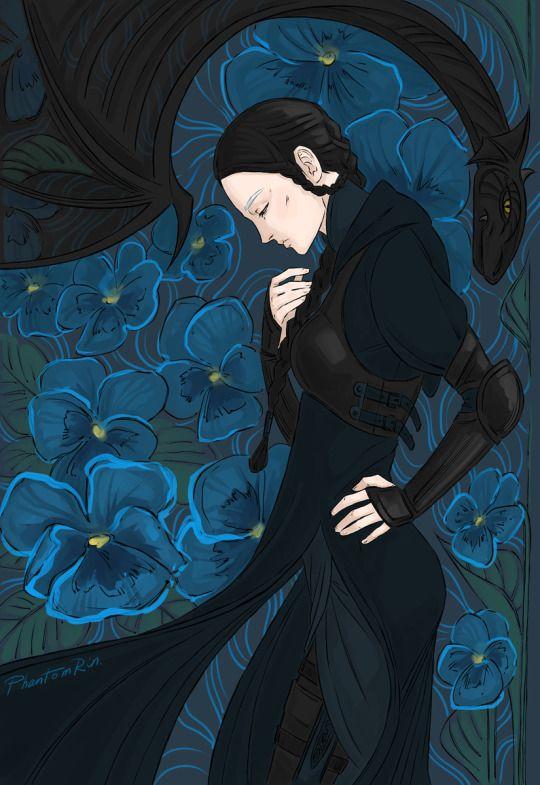 Edda by PhantomRin - art & illustration