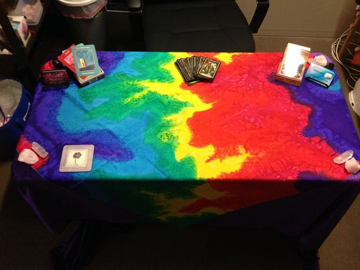 My Tarot Reading Table