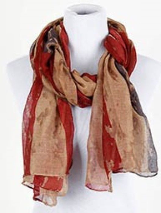 "new STARS AND STRIPES washed Look Red Blue & White FLAG   SCARF 72"" #unbranded #Scarf"