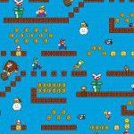 Nintendo Super Mario Game Scenes - 1/2 yard