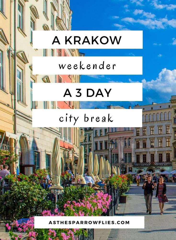 Krakow | Poland Holidays | European City Breaks | Travel Tips via @SamRSparrow