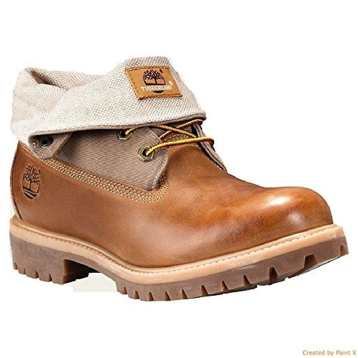 Timberland Roll Top Wheat Men's Boot 11 US - Brought to you by Avarsha.com