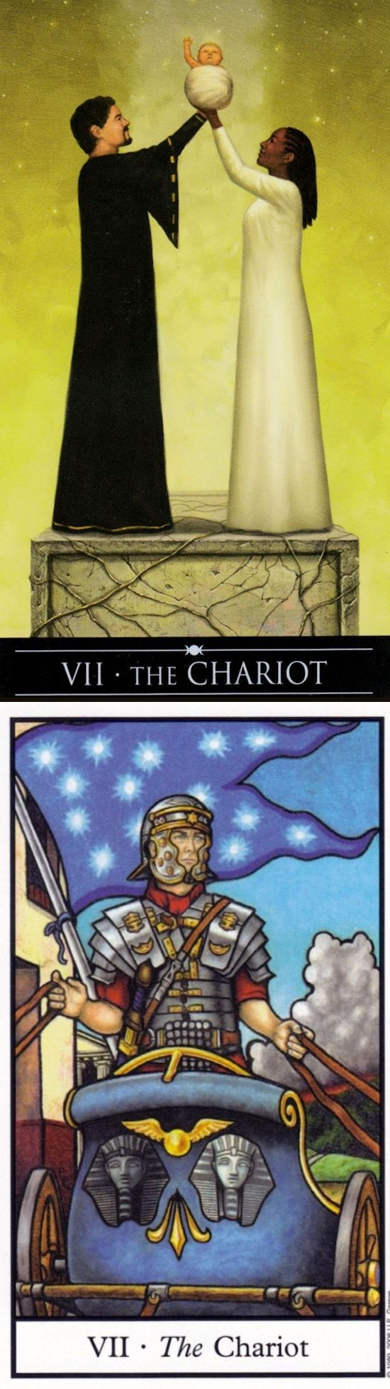 THE CHARIOT: willpower leading to victory and lack of direction (reverse). Silver Witchcraft Tarot deck and Connolly Tarot deck: tarot reading, golden universaltarot vs free online tarot reading predictions. The best tarot decks cards and predictions of next war. # #iosapplication #intuition #lovers #Wiccan #halloweenmakeup