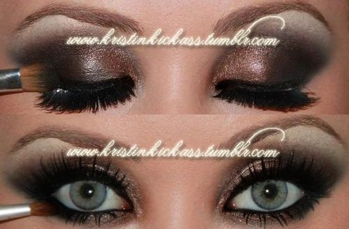 ALL kinds of eye make-up ideasGorgeous Beautiful, Eye Makeup, Eye Shadows, Ideas Hair Beautiful, Mommy Beautiful, Hair Nails Makeup, Makeup Ideas, Eye Make Up, Make Up Ideas
