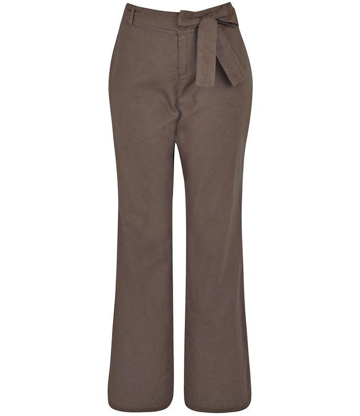 calças sociais femininas de linho - Pesquisa Google