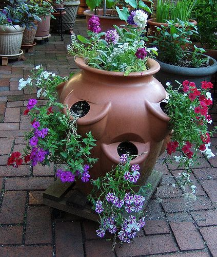 17 Best Ideas About Gardening On Pinterest: 17 Best Ideas About Strawberry Pots On Pinterest