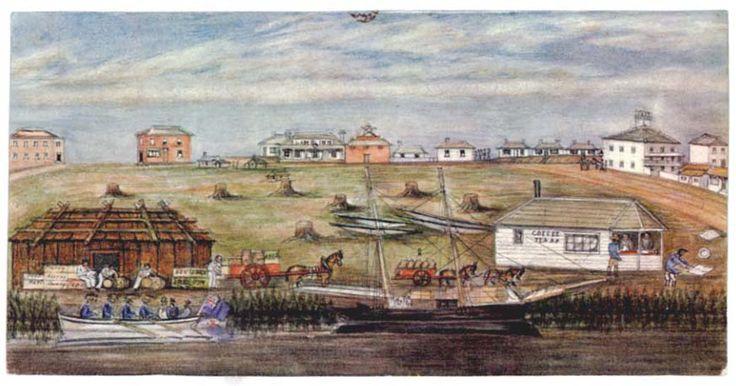 Landing_at_melbourne_1840.jpg 873×459 pixels