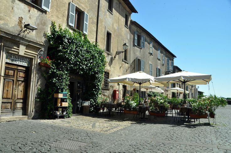 Una bella immagine della piazza di Orvieto, dove si trova il Duomo!