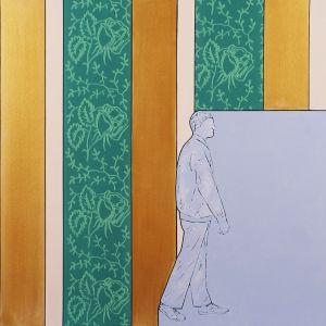 rulli decorativi nell'arte di Renato Mambor