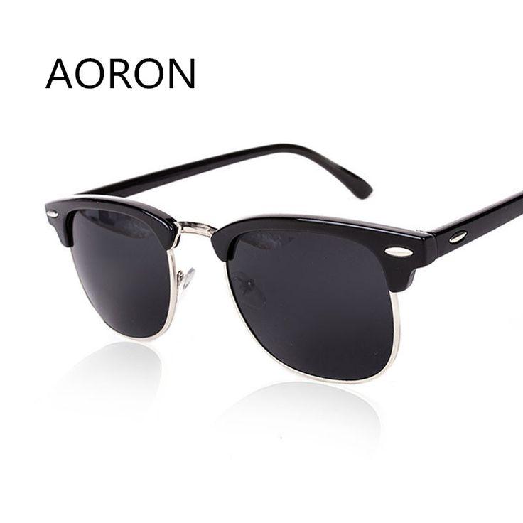 New klinknagel half metalen zonnebril mannen vrouwen merk designer retro seme-randloze hot stralen zonnebril unisex vrouwelijke mannelijke oculo de sol