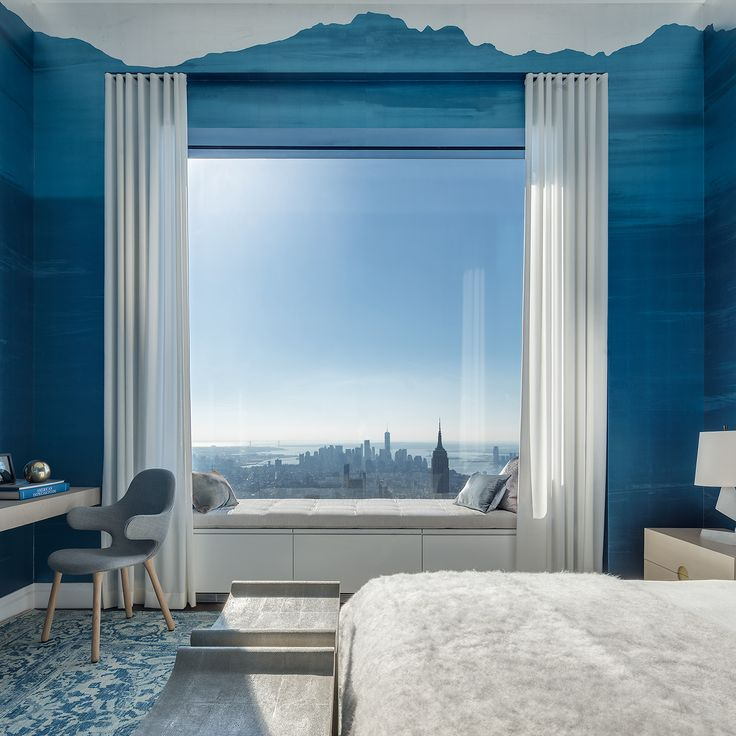 Peek inside 432 Park Avenue's $40M, 92nd-floor penthouse - Curbed NYclockmenumore-arrow : The shoppable apartment is open to visitors—by appointment only, of course