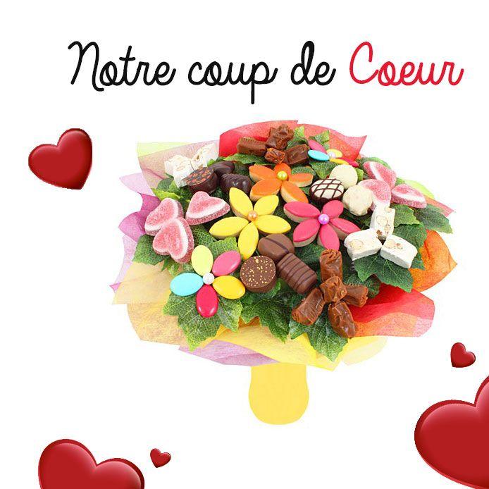 Le bouquet gourmand ! Original et délicieux.