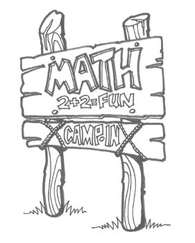 """Math Camp-In is an exciting way to bring mathematics to your classroom or building! During a Math Camp-In students hike to math """"trail posts"""" (stations), complete rich mathematical tasks and record ideas in their Camp Journal. You can use Math Camp-In as a day-long program, a mini-unit in the regular classroom, or as a Family Math Night. $9.99"""