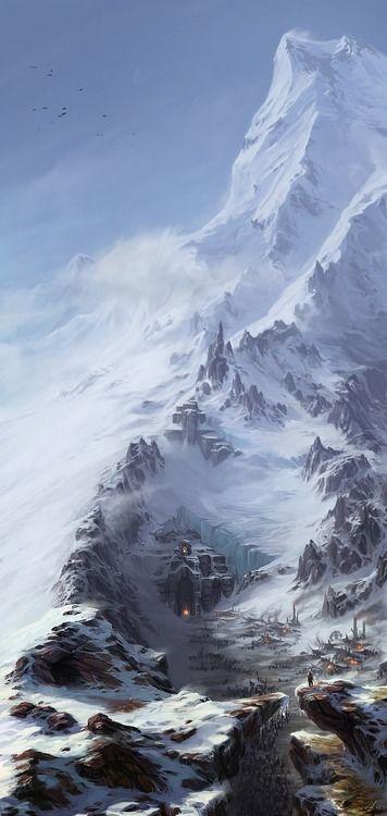 A way into the mountain - Ilya Nazarov