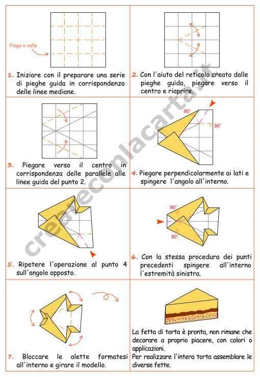 Torta origami per festeggiare il compleanno!