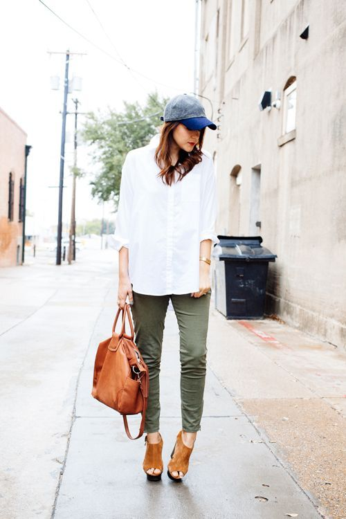 how to wear a sheer blouse with jeans