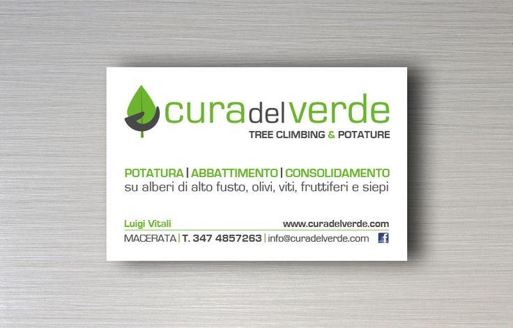 Cura del verde - Logo design e immagine coordinata