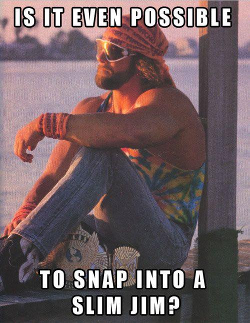 Macho Man Randy Savage <3